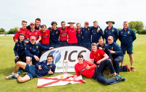 Jersey cricket team