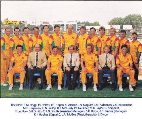 1985 Rebel Tour Australian Team Photo